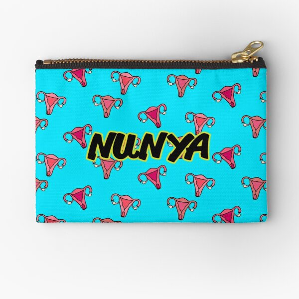 Nunya Business - Uterus Zipper Pouch