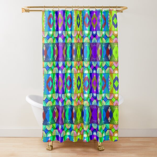 Valparaiso 246 by Hypersphere Shower Curtain