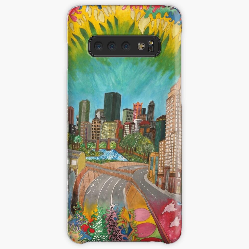 City - vivid Case & Skin for Samsung Galaxy