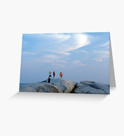 Enjoy The Evening Greeting Card