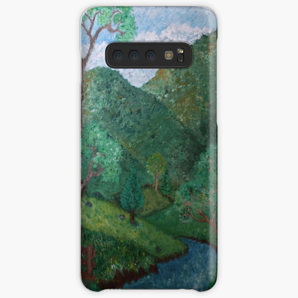 At the farm Case & Skin for Samsung Galaxy