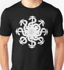 Lucas Darklord Chao$ Logo 2 White Print Unisex T-Shirt