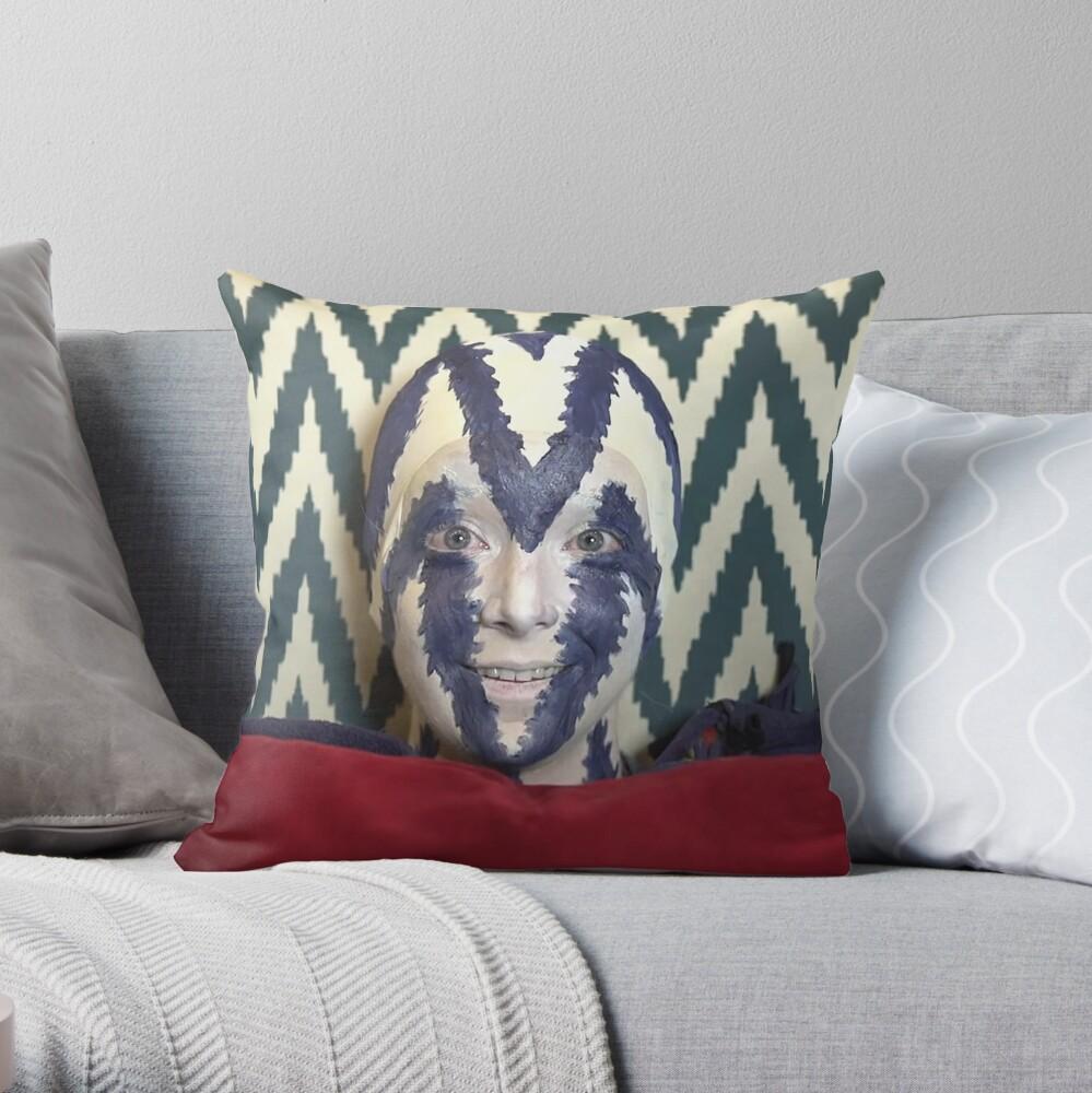 I'm a chair (pillow) beech Throw Pillow