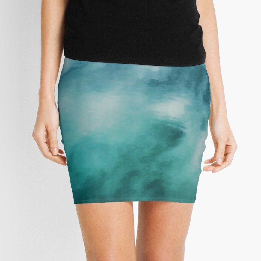 On the Water #nature #decor #buyartprints #redbubble Mini Skirt