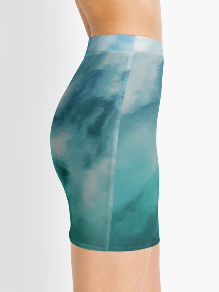 Alternate view of On the Water #nature #decor #buyartprints #redbubble Mini Skirt