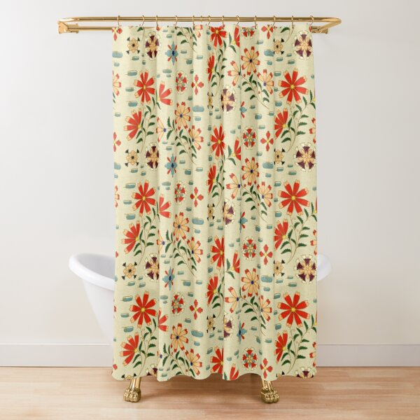 Japonaise 48 by Hypersphere Shower Curtain