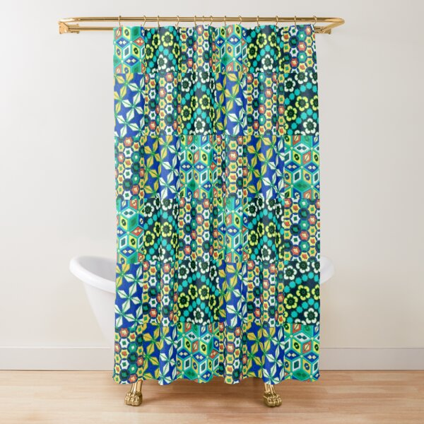 Japonaise 53 by Hypersphere Shower Curtain