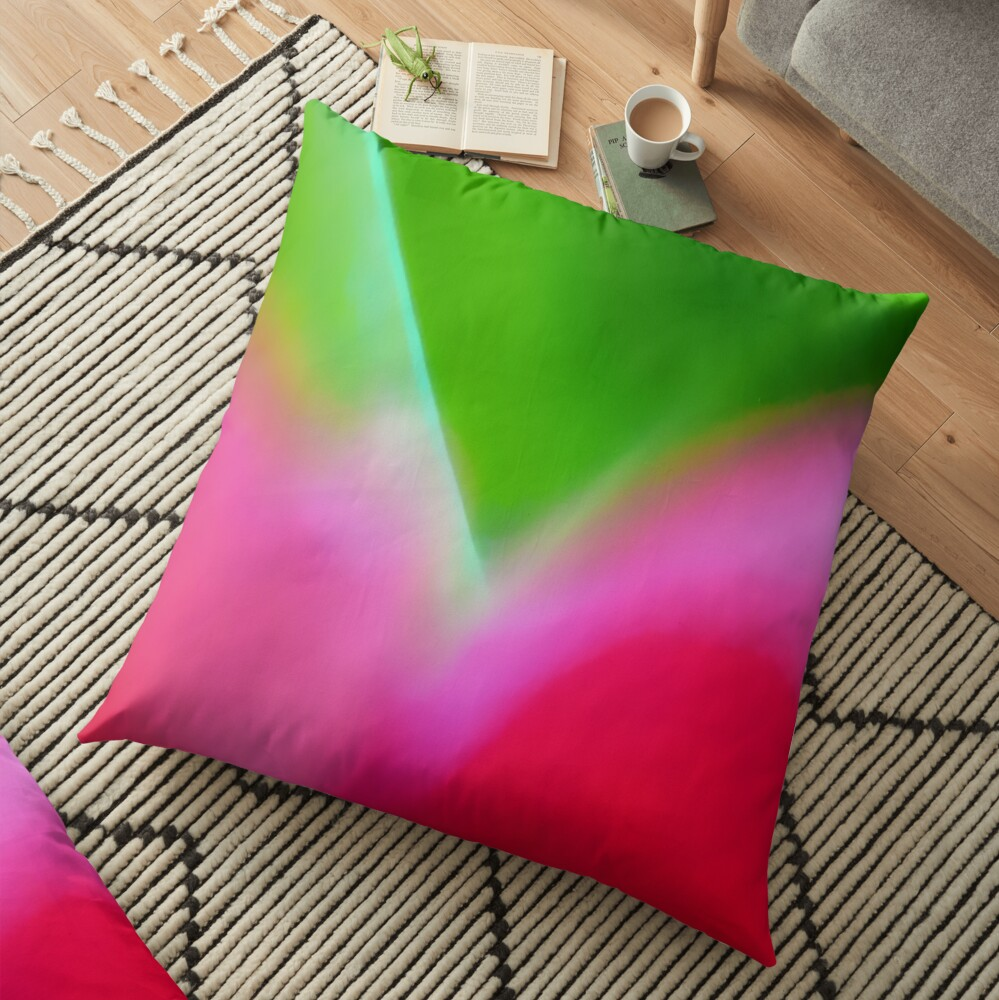 Colors of Spring 1 Floor Pillow