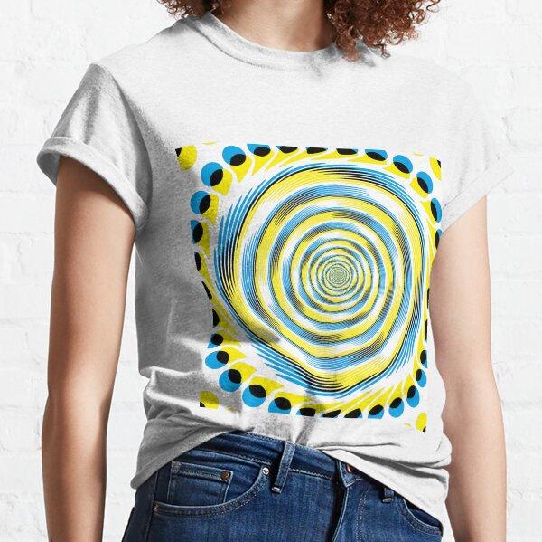 #MOVING #EYE #ILLUSION #Pattern, design, circular, abstract, illustration, art Classic T-Shirt