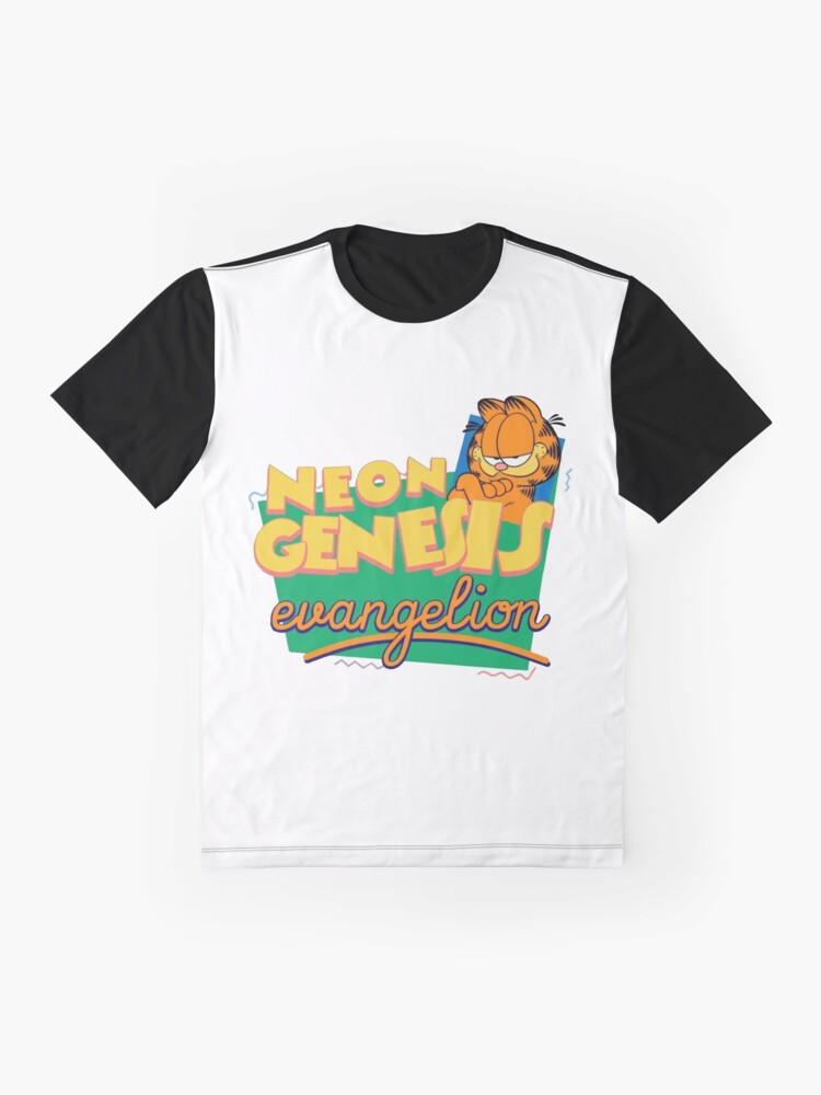 Alternate view of Neon Genesis Evangelion Garfield Graphic T-Shirt
