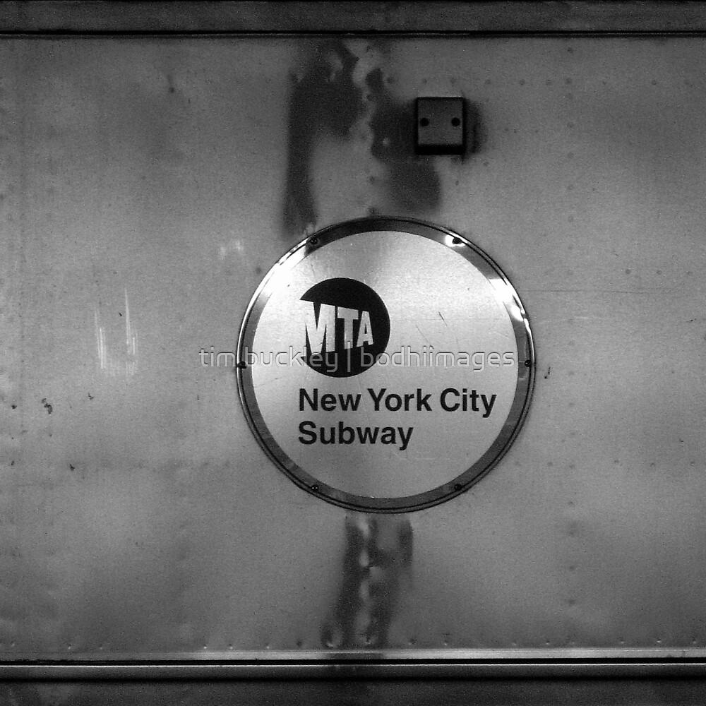 signs, subway, nyc by tim buckley   bodhiimages