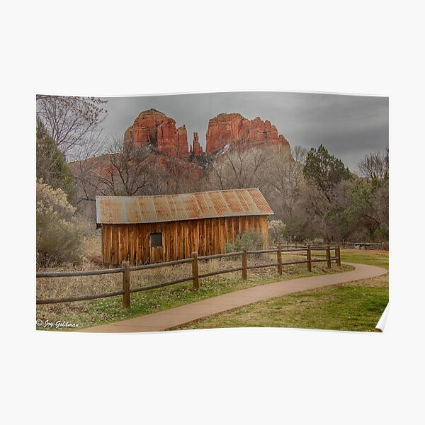Cathedral Rock Beauty Poster