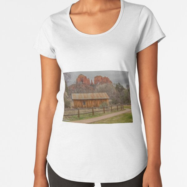 Cathedral Rock Beauty Premium Scoop T-Shirt