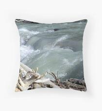 Glacial Water Throw Pillow