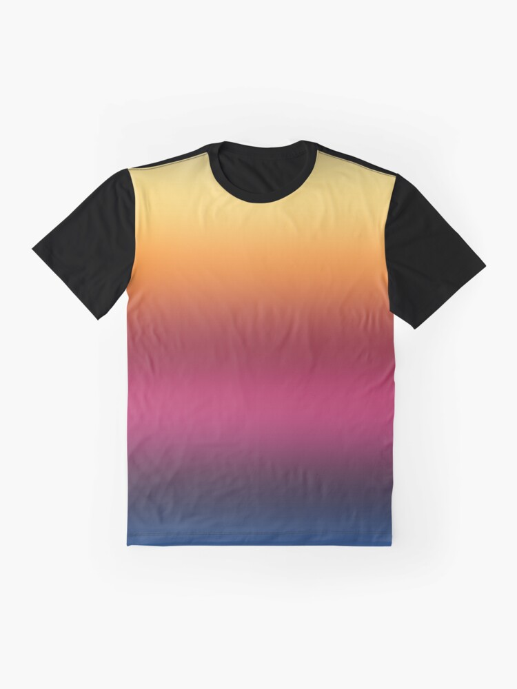 Alternate view of Linear Gradient Graphic T-Shirt
