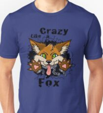Crazy Like a Fox! Slim Fit T-Shirt