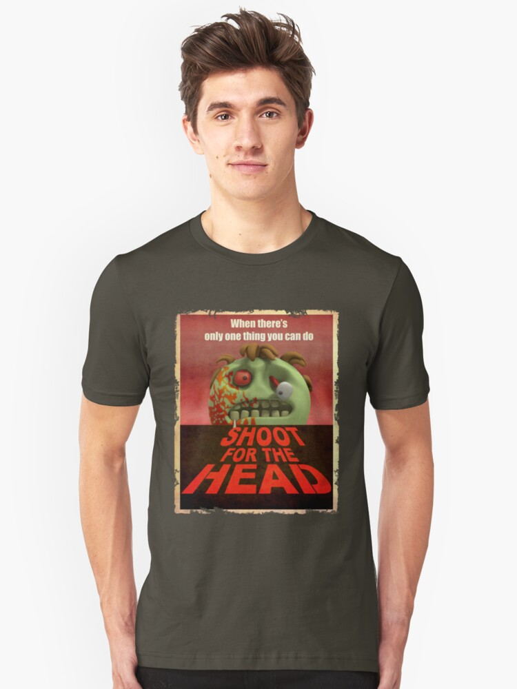 Shoot for the Head Unisex T-Shirt Front