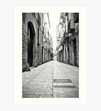 Barcelona 12 Art Print