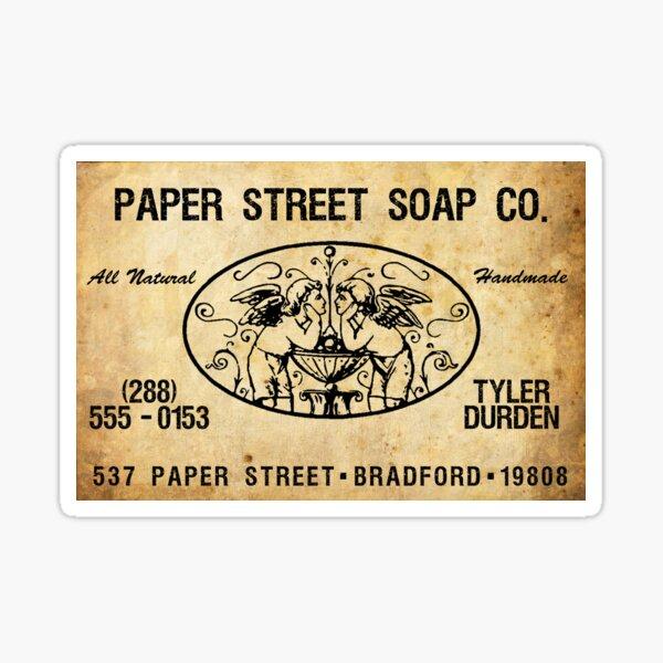 Paper Street Soap Co. Pegatina