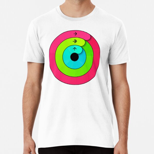 Apple Watch Activity Rings - Close Your Rings - T-Shirt  Premium T-Shirt