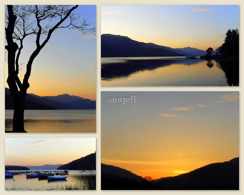 """The Bonny Banks o' Loch Lomond featured in """"Art Inspired By Written Words"""" by ©The Creative  Minds"""