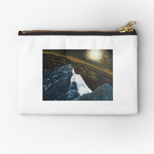 Mt. Everest by moonlight Zipper Pouch
