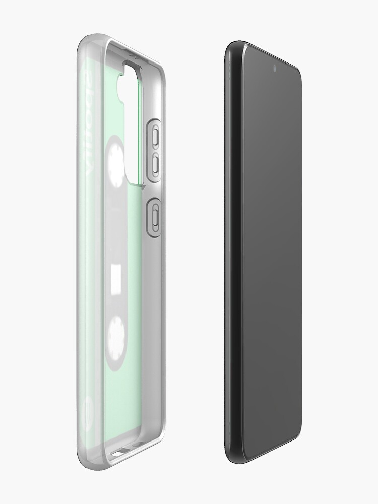 Alternate view of Spotify Retro Cassette Tape Case & Skin for Samsung Galaxy