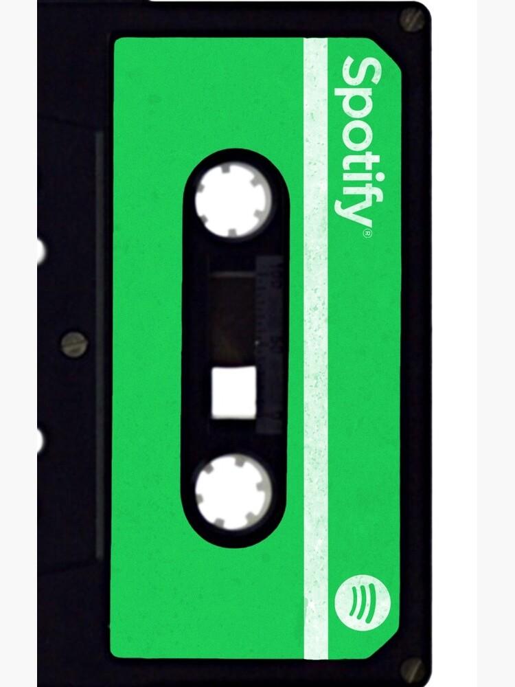 Spotify Retro Cassette Tape by Wynthose