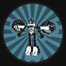 Microbot - Blue Ice by Daniel Johnston