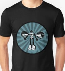 Microbot - Blue Ice Unisex T-Shirt