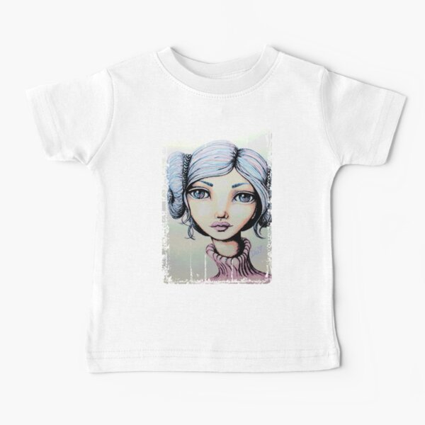 Space Buns - Full-Color Version Baby T-Shirt