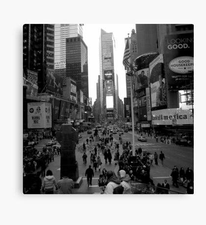 times square, nyc Canvas Print