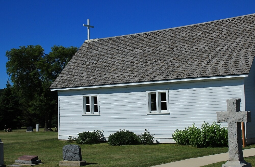 Wooden Country Church by rhamm