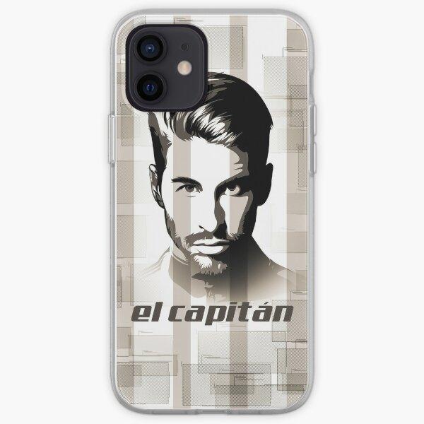Sergio Ramos Funda blanda para iPhone