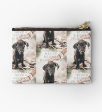 you will never regret being kind Zipper Pouch