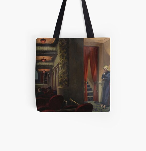 New York Movie All Over Print Tote Bag