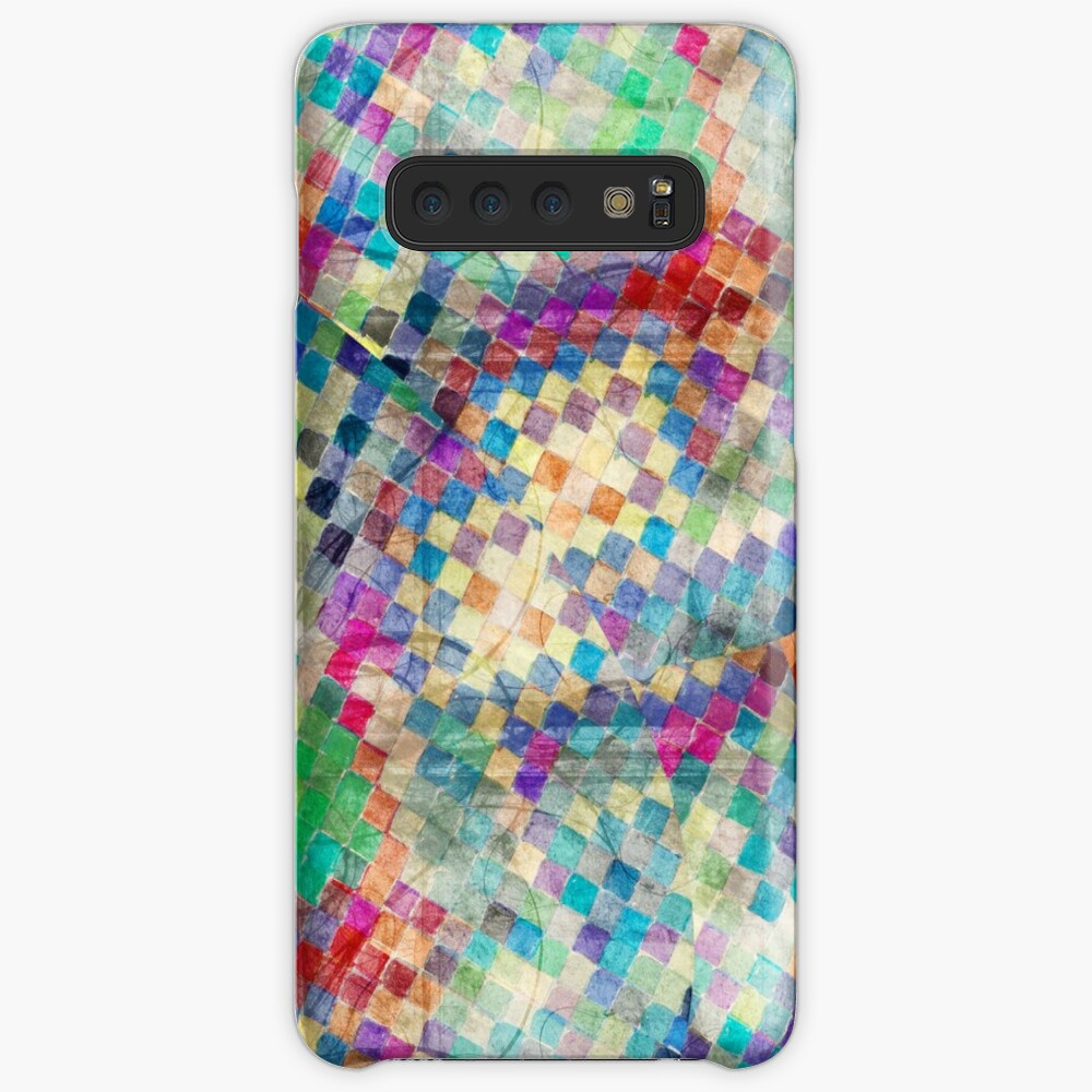 2nd skin - colourful abstract Case & Skin for Samsung Galaxy