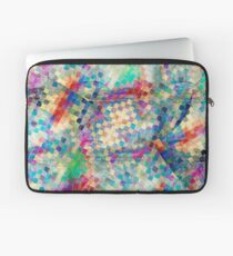 2nd skin - colourful abstract Laptop Sleeve