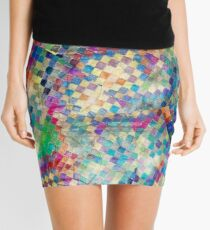 2nd skin - colourful abstract Mini Skirt