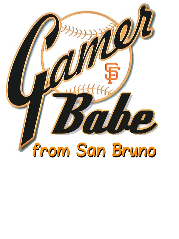 Quot Sf Giants Gamer Babe From San Bruno Quot Stickers By