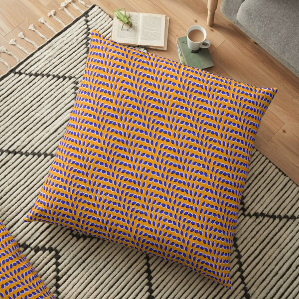 #MOVING #EYE #ILLUSION #Pattern, design, circular, abstract, illustration, art, grid, proportion, symmetrical Floor Pillow