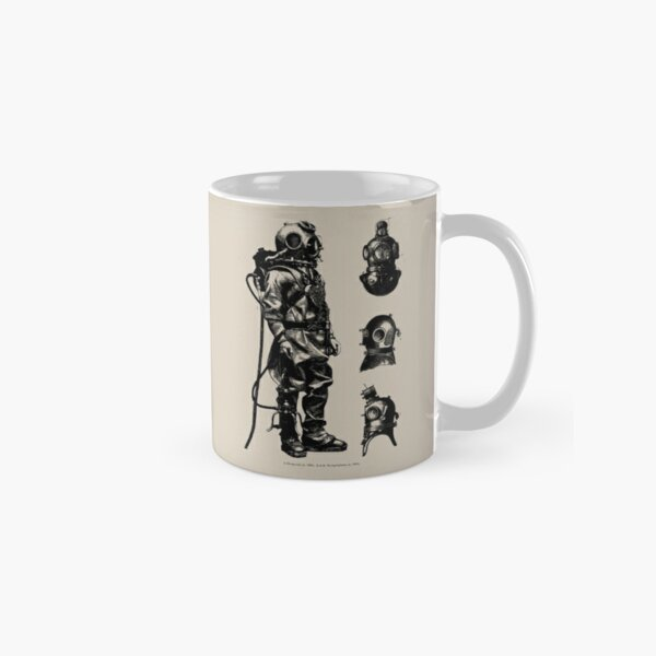 Vintage Deep Sea Diver | Nautical |  Classic Mug