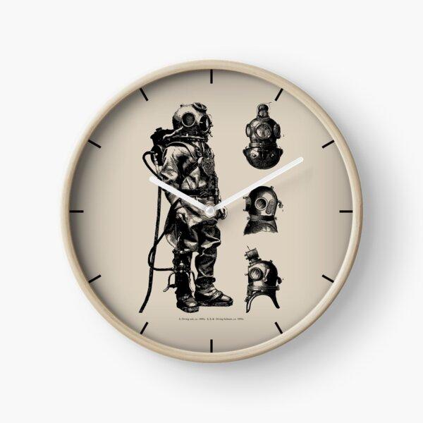 Vintage Deep Sea Diver | Nautical |  Clock