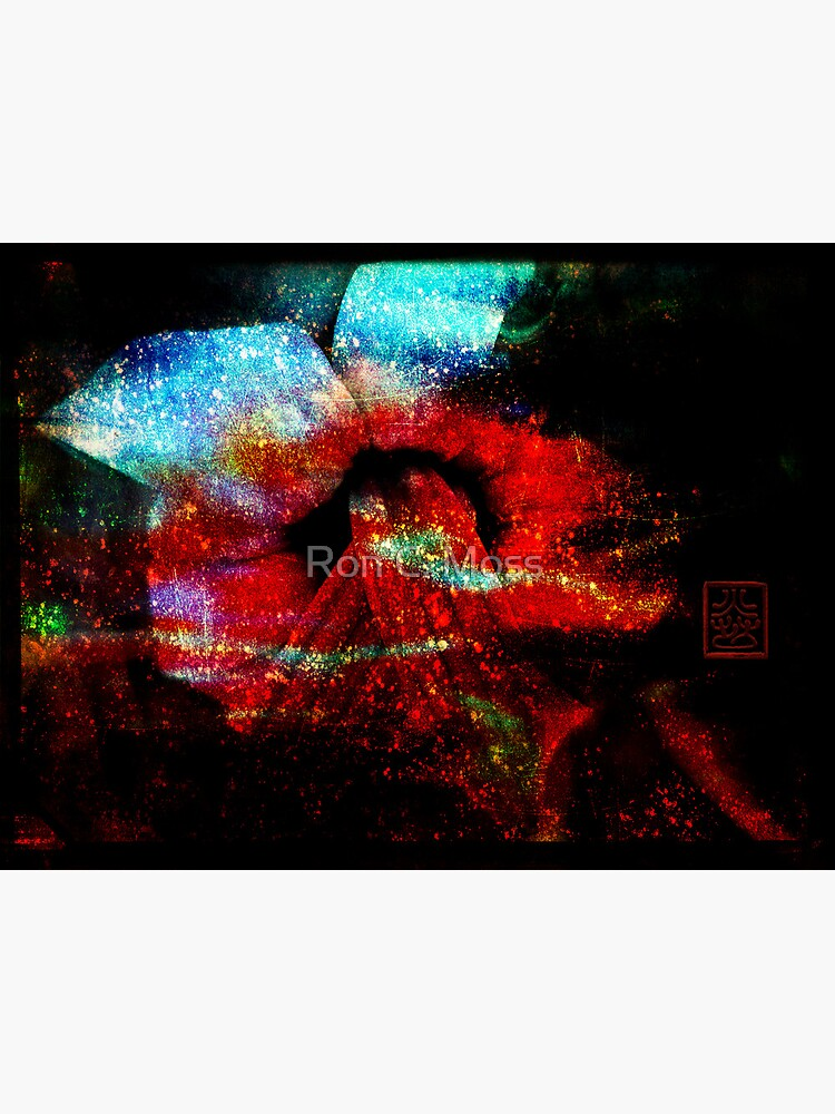 Plant Love - Abstract 3D by ronmoss