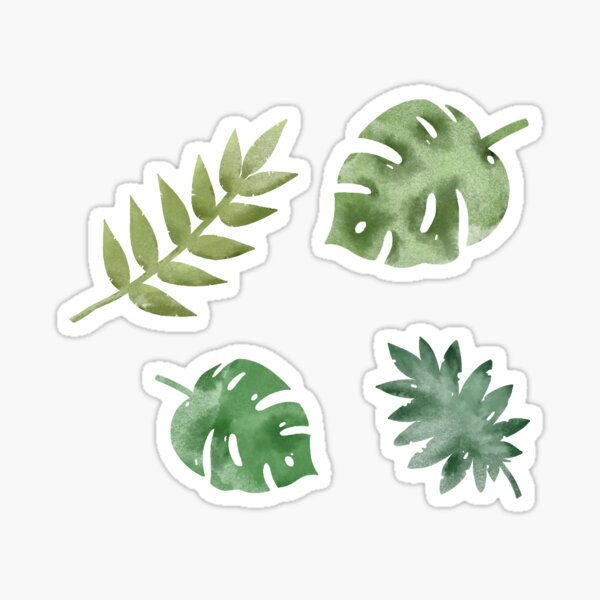 Leafy collection  Sticker