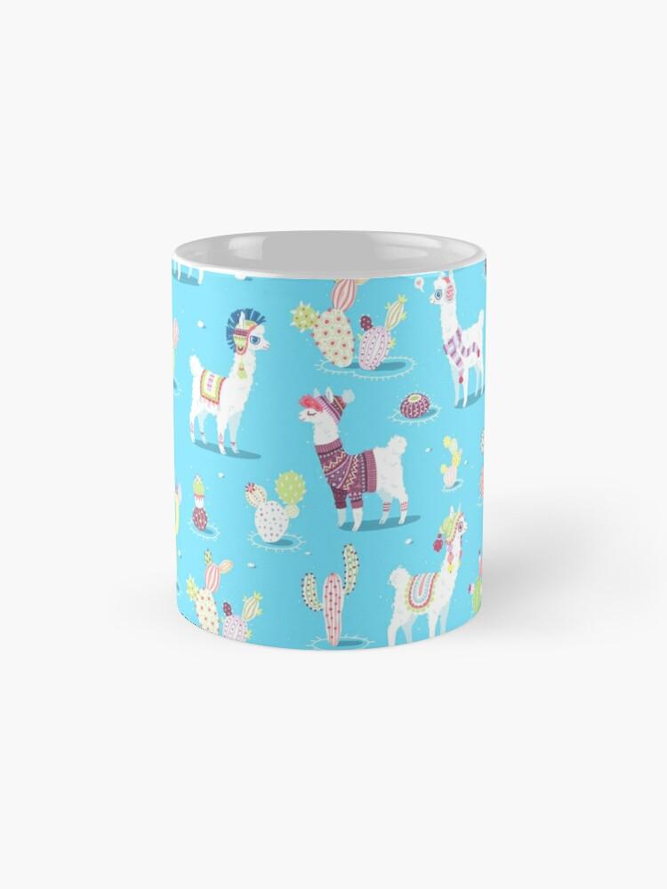 Alternate view of Alpaca Pattern Mug