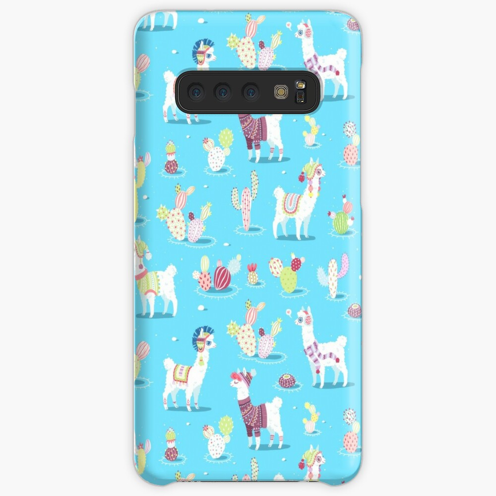 Alpaca Pattern Case & Skin for Samsung Galaxy