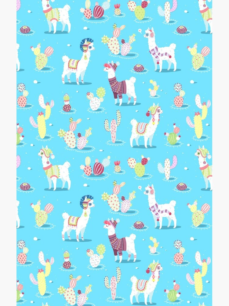 Alpaca Pattern by freeminds
