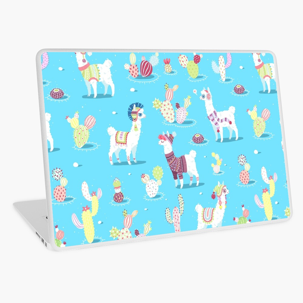Alpaca Pattern Laptop Skin