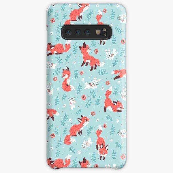 Fox and Bunny Pattern Samsung Galaxy Snap Case